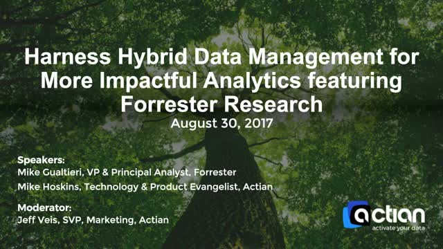 Harness Hybrid Data Management