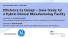 Efficiency by Design- Case Study for a Hybrid Clinical Manufacturing Facility