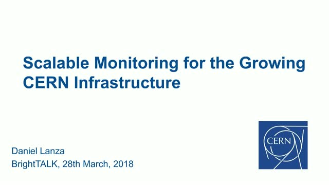 Scalable Monitoring for the Growing CERN Infrastructure