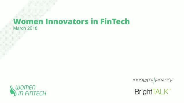 Women Innovators in FinTech