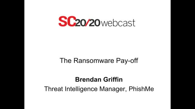 Sc Magazine: The Ransomware Payoff