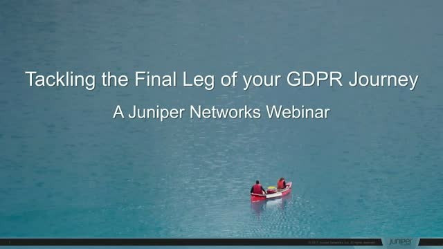 Tackling the Final Leg of your GDPR Journey