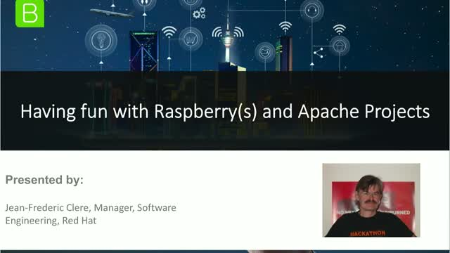 Having fun with Raspberry(s) and Apache Projects