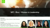 Women in Tech Leadership: Building your Brand & Becoming a Better Leader