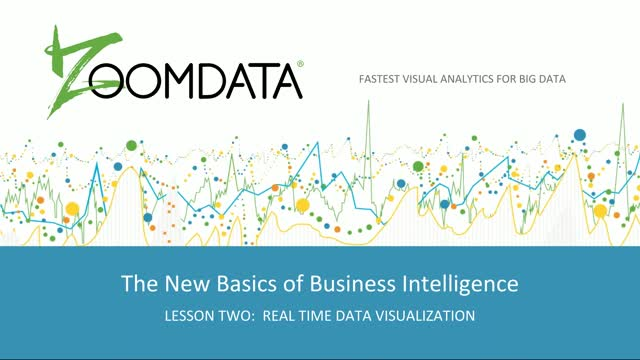 The New Basics of BI Lesson 2: Real Time Data Visualization