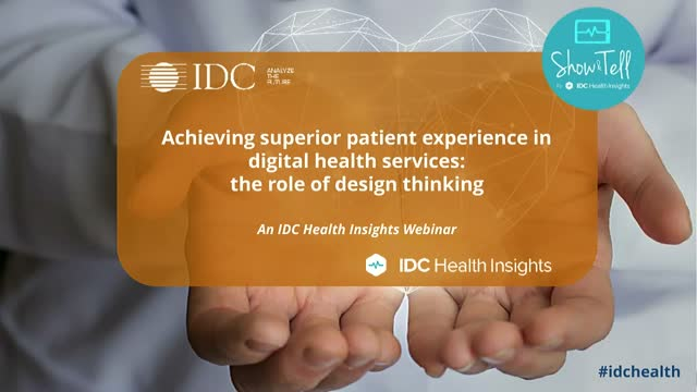 Achieving superior patient experience in digital health services