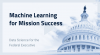 Machine Learning for Mission Success: Data Science for the Federal Executive