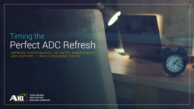 Timing the Perfect ADC Refresh