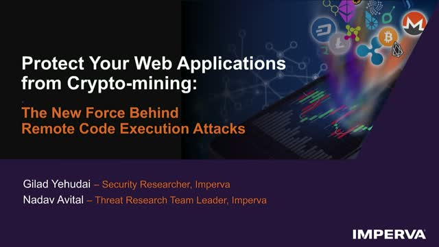 Protect Your Web Applications from Cryptomining