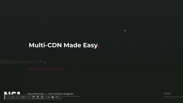 Multi-CDN Made Easy