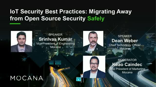 IoT Security Best Practices: Migrating Away from Open Source Security