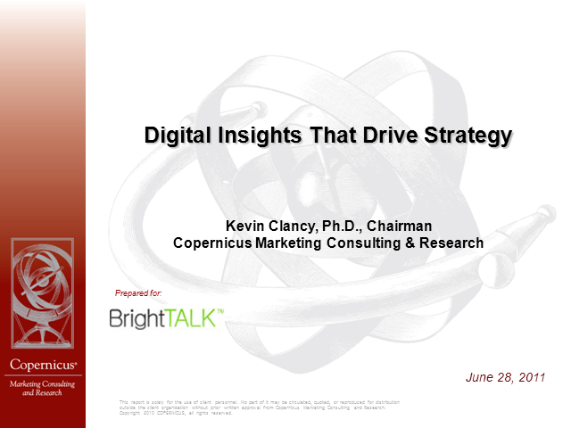 Digital Insights that Drive Strategy