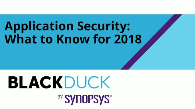 Application Security: What to Know for 2018