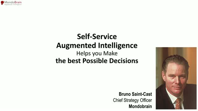 Discover Augmented Intelligence for decision making with MondoBrain