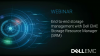 End-to-end storage management with Dell EMC Storage Resource Manager (SRM)