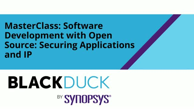 Software Development with Open Source: Securing Applications and IP