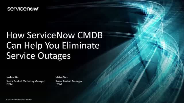 How ServiceNow CMDB Can Help You Eliminate Service Outages