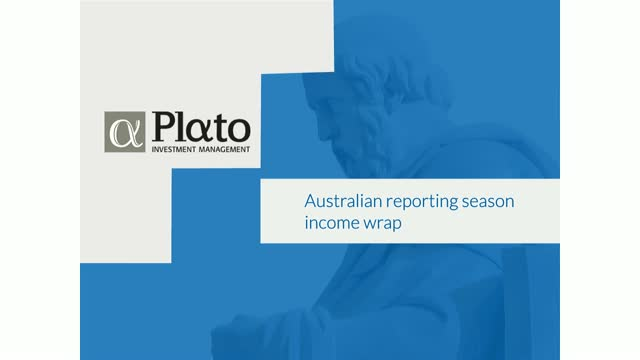 Australian reporting season income wrap