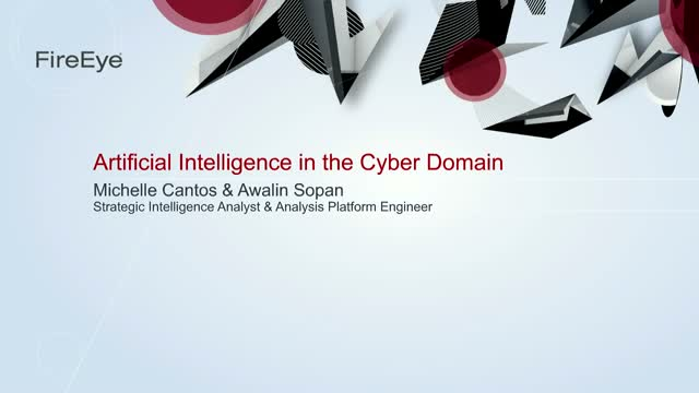 Artificial Intelligence in the Cyber Domain