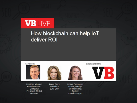 How blockchain can help IoT deliver ROI