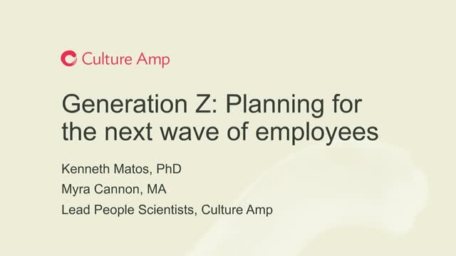 How to Prepare your Organization's Culture for Gen Z