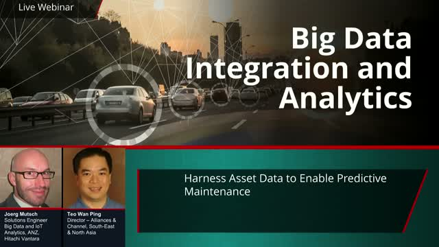 Harness Asset Data To Enable Predictive Maintenance