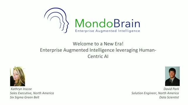 Discover Augmented Intelligence leveraging Human-Centric AI-Just Ask MondoBrain!