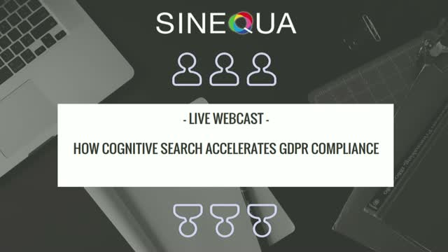 How Cognitive Search Accelerates GDPR Compliance