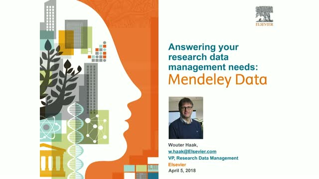 Answering your research data management needs: Mendeley Data Launch