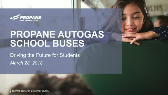 Propane Autogas School Buses: Driving the Future for Children