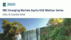 Monitoring country ESG risks in emerging markets