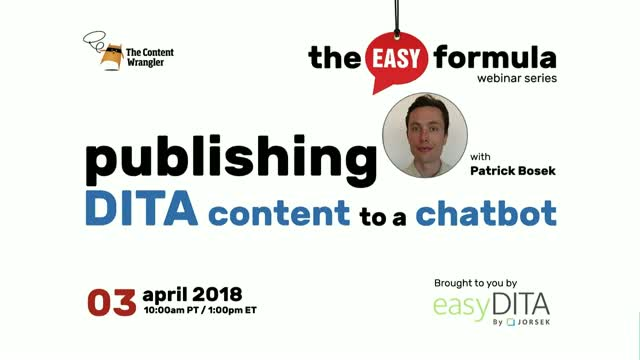 Publishing DITA Content to a Chatbot