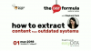 How to Extract Content from Outdated Systems