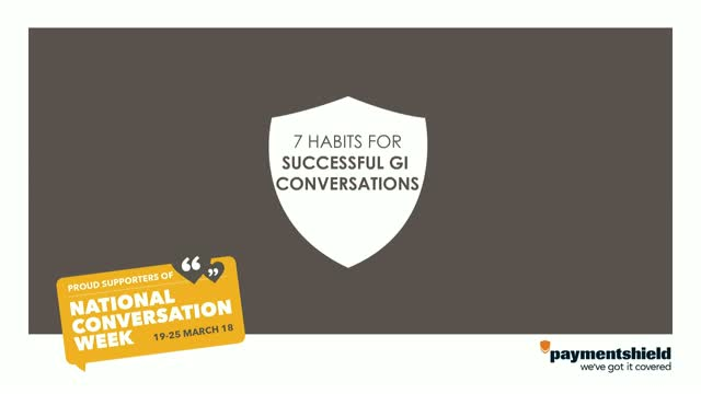 7 Habits for Successful GI Conversations