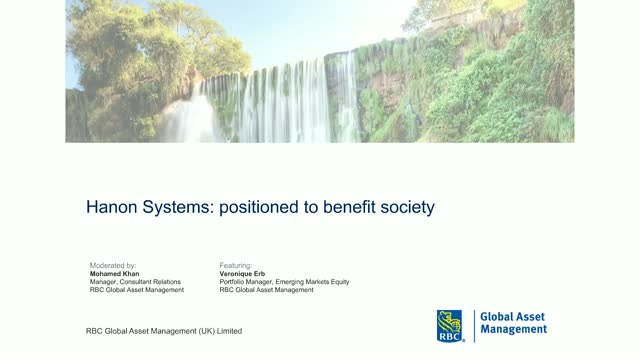 Positioned to benefit society: Hanon Systems ESG case study