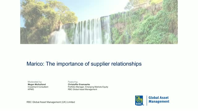 The importance of supplier relationships: Marico ESG case study
