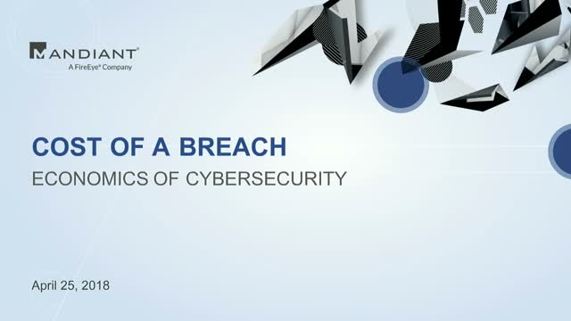 The Real Cost of Data Breaches
