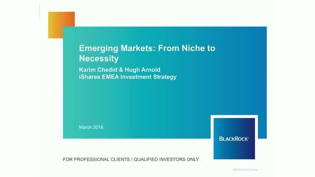Emerging Markets: From niche to necessity