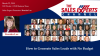 How to Generate Sales Leads with No Budget