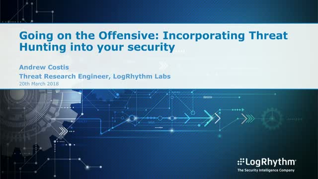 Going on the offensive: Incorporating threat hunting into your security