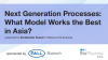 Next generation processes: What model works the best in Asia?