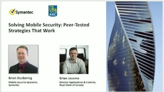 Solving Mobile Security: Peer-tested Strategies That Work