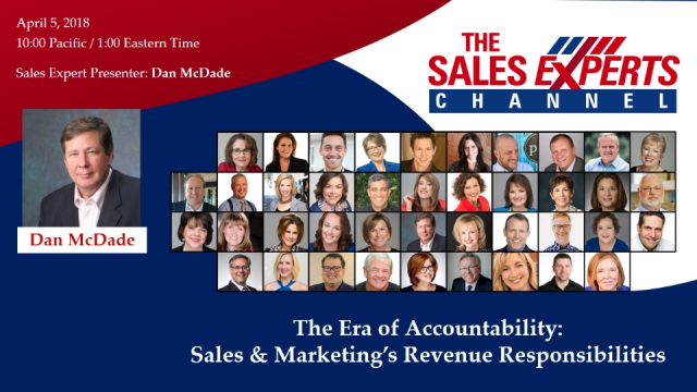 The Era of Accountability: Sales & Marketing's Revenue Responsibilities