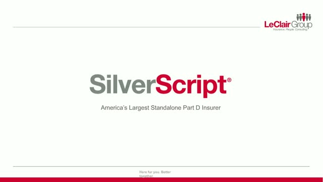 SilverScript: America's largest stand-alone Part D insurer.