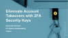 Eliminate Employee and Customer Account Takeovers with 2FA Security Keys