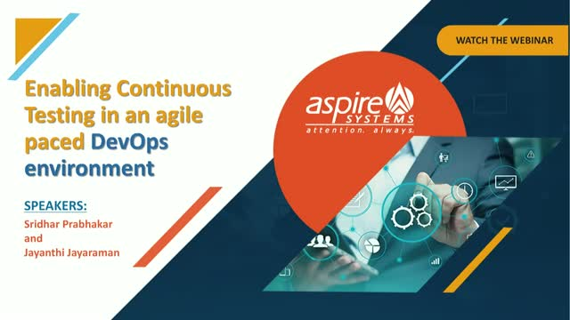 Enabling Continuous Testing in an agile paced DevOps environment (Part 3)