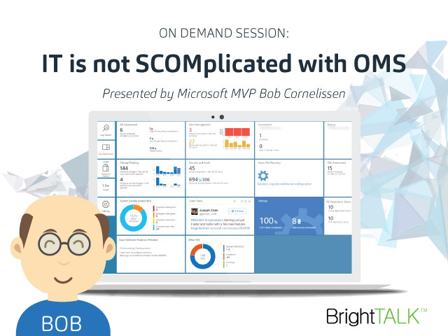 IT is not SCOMplicated with OMS