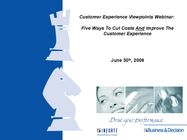 Five Ways to Cut Costs AND Improve the Customer Experience