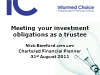 Meeting your investment obligations as a trustee