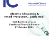 Fixed Protection and the Lifetime Allowance explained